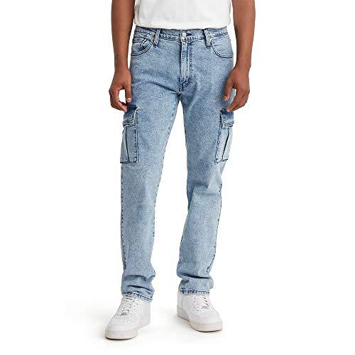Levi's Herren 541 Athletlic Fit Cargo Jeans, Grand Blue - Stretch, 33W / 32L