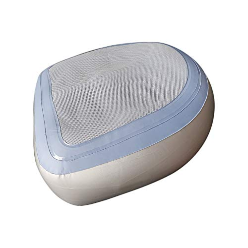 Aufblasbares Badewannenmassagekissen mit Netz, Bade-Spa-Pad, Erwachsene und Kinder, aufblasbares Sitzkissen für Spa-Kissen, Massage-Matte, weich, aufblasbarer Sitzerhöhung