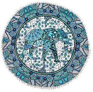 Coj/ín de Asiento de Paja Tejida de 40 Cm Puf Redondo Tatami Piso Hecho a Mano Almohada de Meditaci/ón Tradicional Japonesa Estera de Yoga Suave para El Hogar