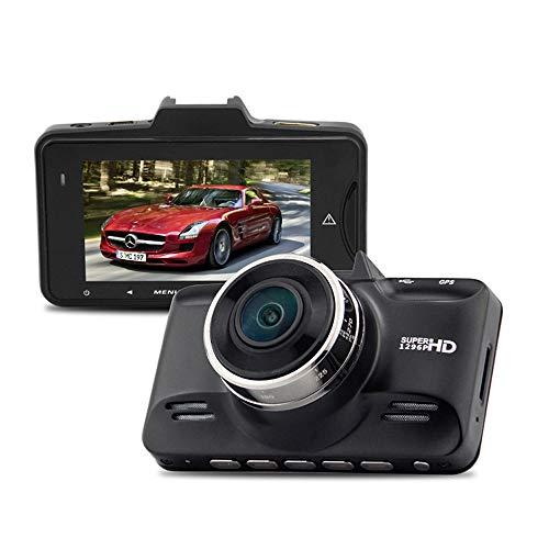 Grabadora de conducción de 2.7 pulgadas, cámara de automóvil Mini de 1296P HD, 178 grados de gran angular, sensor de gravedad de soporte, grabación de bucle, detección de movimiento, adecuado para aut