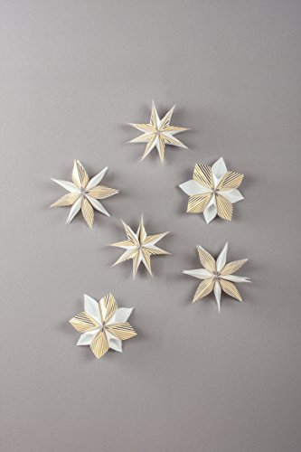 Rayher 67274616 Kit: Mini-étoiles magiques XXS, or