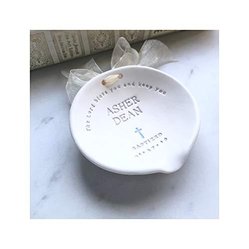 Water Bowl for Ceremony - Baptism Decoration - Baptism Gift for Goddaughter