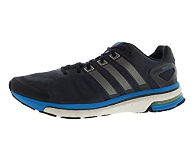 Adidas Men's adistar Boost, Dark Onix Neo Iron, 10.5 (B