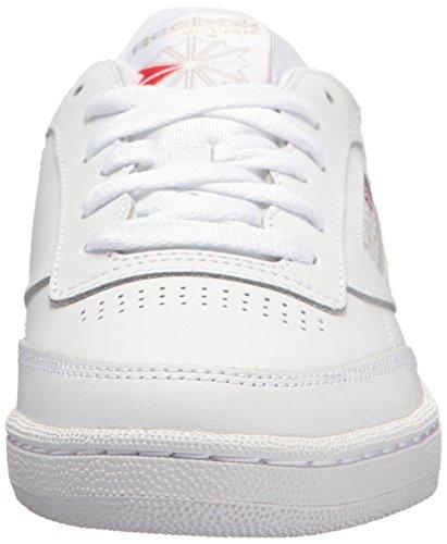 Reebok Tenis de mujer Club C 85 Vintage, blanco (blanco/gris claro), 41 EU