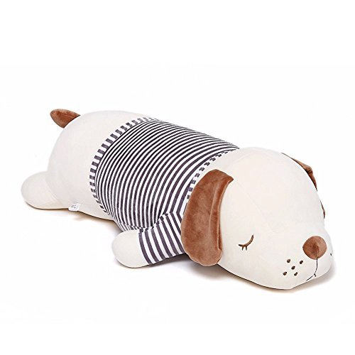 Niuniu Daddy 20 inch Plush Puppy Stuffed Animal Soft Plush Toy Dog Cute Cuddle Hugging Pillow/Body Pillow Birthday Gift for Kids