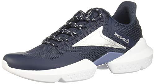 Reebok Split Fuel, Zapatillas de Trail Running Unisex Adulto, Multicolor (Navy/Washed/Silver/White 000), 40.5 EU