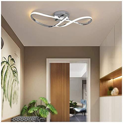 HIGHKAS D modernoLuces de Techo esign, iluminación Art Deco Creativa de Aluminio para Sala de Estar, Estudio, Dormitorio, Cocina, Comedor, Pasillo, LE