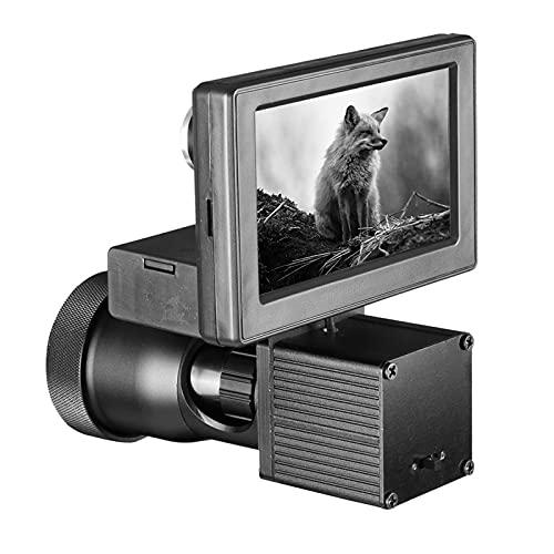 AJDGL Visores de visión Nocturna HD 1080P Cámara de Caza Digital infrarroja Visión Clara con Pantalla de 5