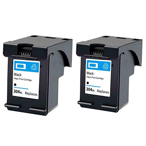 Cartucho de tinta 302XL, reemplazo de alto rendimiento para HP DeskJet 1111 1112 2131 2132 Envy 4510 4511 4520 OfficeJet 3830 4650 5220 5230 Impresora Negro y Tri-Co 2 Black