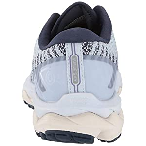 Mizuno Women's Wave Sky 4 WAVEKNIT Running Shoe, Arctic ice, 9 B US
