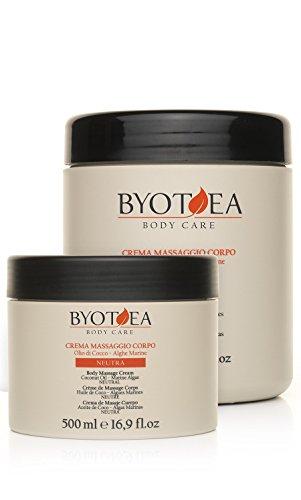 BYOTHEA Corps neutre Crème de massage 500 Ml,