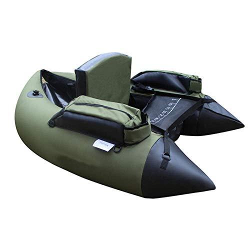GNZM Aufblasbare KajaksSchlauchbootInflatable Fishing Katamaran PVC Gummiboot zum Angeln Kajak 1 Person Aufblasbarer Angelstuhl Einzel Ruderboot
