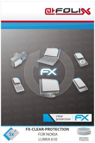 atFoliX 4050512092792 FX-Clear - Protector de pantalla para Nokia Lumia 610