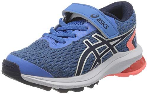 ASICS 1014A151-401_33,5 Running Shoes, Blue, 33.5 EU