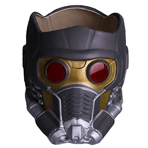 Wächter Der Galaxis Star-Lord Helm Maske Halloween Gesichtsmaske Cosplay Männer Erwachsener Teil Maskerade Kostüm Prop A-OneSize,A-OneSize