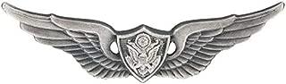 Army Aviation Aircraft Crewman Badges Silver Oxide Dress Miniature