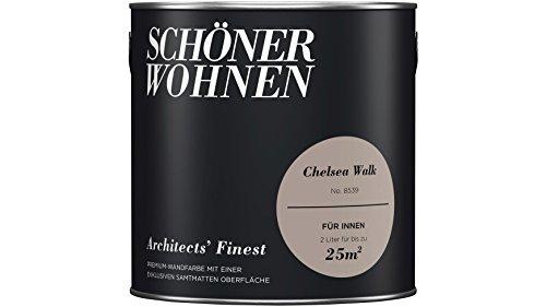 SCHÖNER WOHNEN FARBE Wand- und Deckenfarbe Architects' Finest, Chelsea Walk 2 l, Chelsea Walk