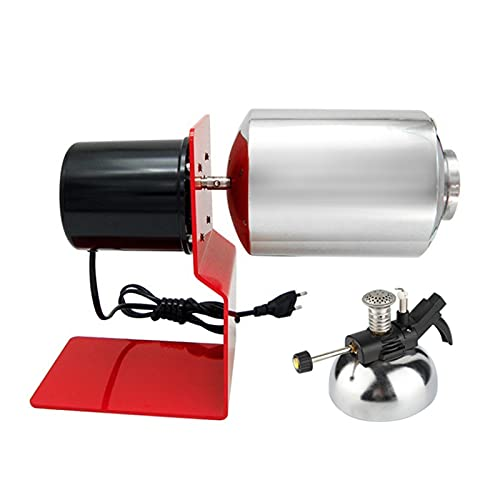 HPRM Stainless Steel Baking Tools, Grain Drying Nut Roasting Machine, Drum Type Gas Stove Heating, Household Electric Coffee Bean Roaste