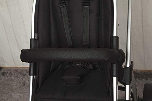Babyline 30000006 - Cubre barra para silla de paseo, color negro 🔥