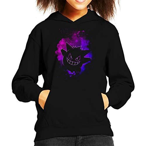 Cloud City 7 Soul of The Ghost Gengar Kid's Hooded Sweatshirt