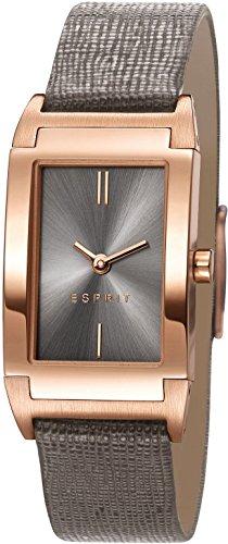 Esprit Damen-Armbanduhr Helena Analog Quarz Leder ES107812003