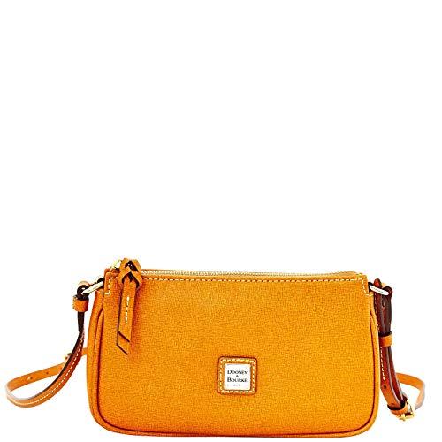 Dooney & Bourke Lexi Handtasche aus Saffiano-Leder, klein, Braun - natur - Größe: Einheitsgröße