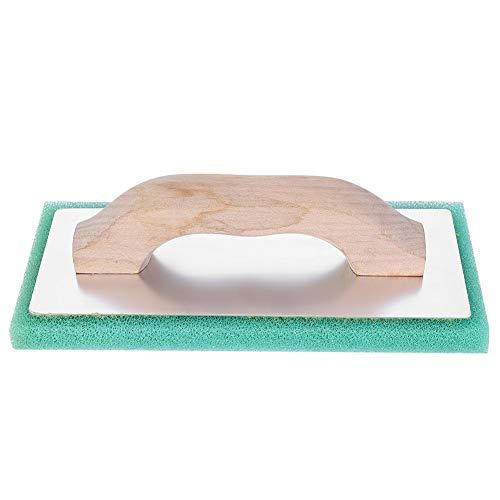 Plyisty Llana de deshidratación de lechada Flotador, Paleta de enlucido, Flotador de Esponja para baldosas de enlucido, Llana Plana, para hormigón y Yeso
