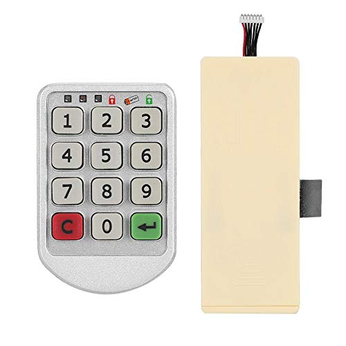 Elektronisch codeslot, digitaal elektronisch wachtwoordbeveiliging Kabinetsslot Veel gebruikte kluisjes, kantoorkasten, ladekasten