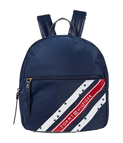 Tommy Hilfiger Ivy II - Small Print Nylon Backpack Tommy Navy One Size