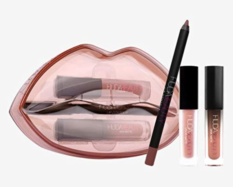 Hudabeauty Matte & Cream Lip Set Day Slayer & Venus リップセット マットリップ
