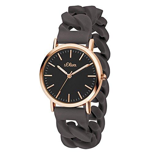 s.Oliver Time Unisex Erwachsene-Armbanduhr SO-3421-PQ