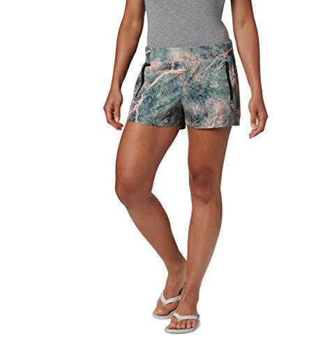 Columbia Women's Tidal Ii Short, Tiki Pink MAKO Print, Large x 5