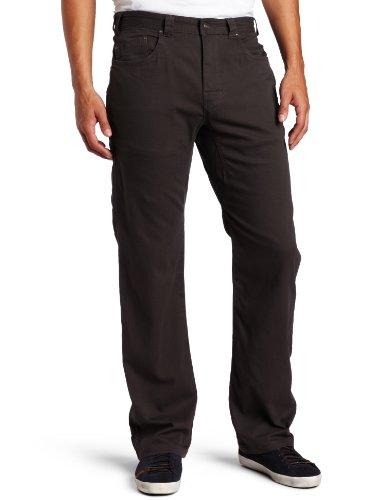 "prAna Men's Bronson Pant 36"" Inseam, Charcoal, 42W 36L"