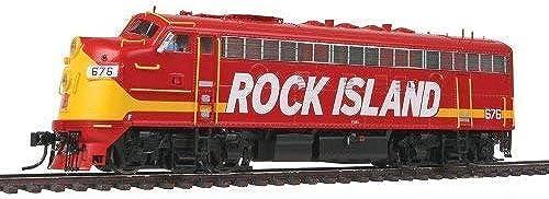 WALTHERS Spur H0 - Diesellok F7A Rock Island mit Sound