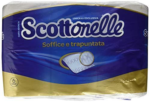 Scottonelle toiletpapier, zacht, gewatteerd, 6 rollen