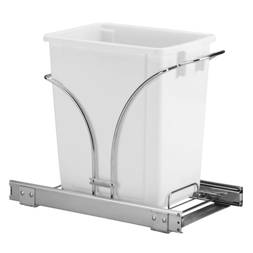 Product Image of the Household Essentials C29537-1 Under Cabinet Single Sliding Trash Can Caddy, 5-Gallon