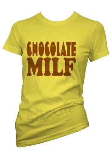 starlite-womens Funny tshirts-chocolate MILF t-shirts-funny Regalos