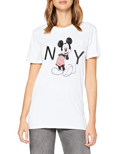 Disney New York Camiseta, Blanco, M para Mujer