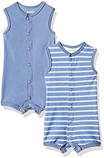 Hanes Ultimate Baby Flexy 2 Pack Sleeveless Rompers