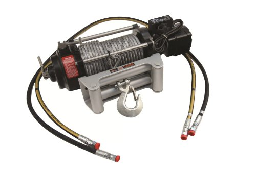 Mile Marker HI9000 Power Steering Hydraulic Winch (9000 lb. Capacity, 2 Speed), Silver (75-50085C)