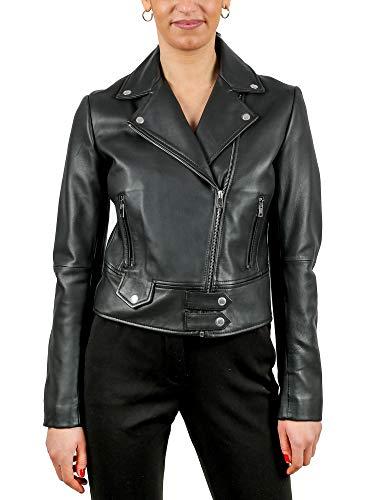 Pinko Sensibile 4 Abrigo, Negro (Negro Limousine Z99), 42 (Talla del Fabricante: 46) para Mujer