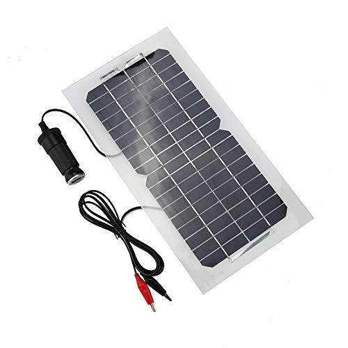 Zonnepaneel - 18V 5.5W Portable Solar Power Panel 12V / 5V oplader, stroomvoorziening, elektrische producten Power Bank, voor auto, motorfiets, boot