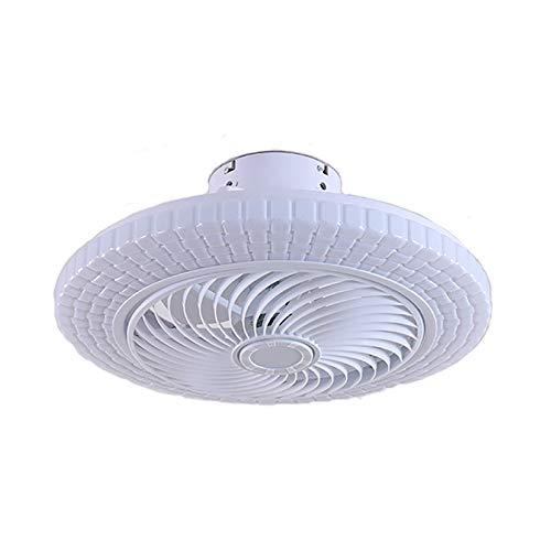WJLED Lámpara de Techo con Ventilador Multifuncional, 3 velocidades, Fuente de luz de Tres Colores, lámpara y Ventilador de Doble Uso, Adecuada para Dormitorio y Sala de Estar