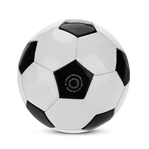 VGBEY Pelota de Futbol, Fútbol clásico Talla 4 para Entrenamiento Balón de fútbol,con válvula