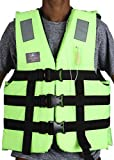 "Size : Chest Size : 40"" - 60"" User Weight : 40 to 120Kg+ beyoncy 150N Wear : The Best PFD is one you will wear. PFD's only reduce the risk of drowning.This jacket is designed to keep a person afloat in water. IRS Approved Non clog-Whistle / Retro-Ref..."