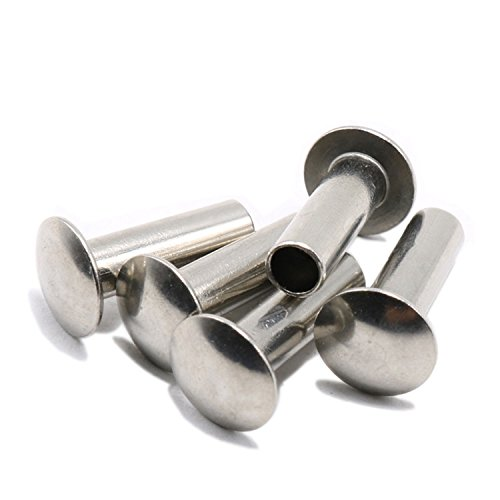 Tonka 1//8  x 7//32 inch Truss Head Steel Semi Tubular Rivet