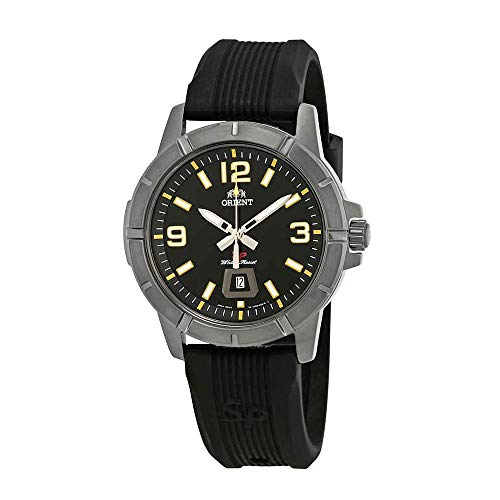 Orient Sport Black Dial Mens Watch FUNE900BB