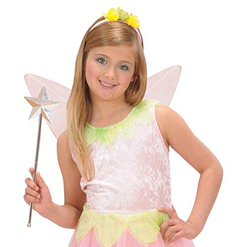 Amakando Baguette Magique avec étoile Contes de fées Princesse magicienne bâton Enterrement de Vie de Jeune Fille Accessoire Mardi Gras Carnaval