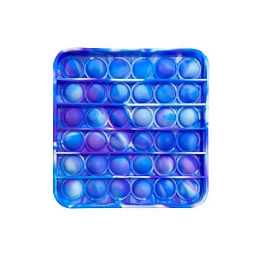 MINGCHIU Fidget Toy Antistress Spielzeug Anti Stress Sensorik Popit Figetttoys, Simple Dimple Fidget Toy Figuren Ball Figet Squishy Bubble Push Pop für Erwachsene und Kinder (E- 04, One size)