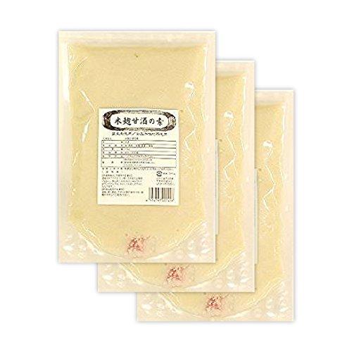 業務用 米麹甘酒の素(2倍濃縮)1.5kg×3 甘酒 米麹 砂糖不使用 麹 濃縮タイプ コーセーフーズ